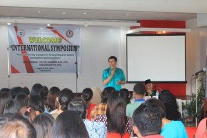 Two lecturers of UAD give speech at UNC, Philippines