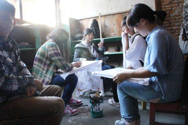 2+2 @workshop batik