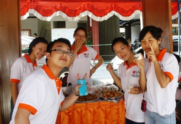 3+1 Joint Degree Students of GXUN at The 3rd International Day.