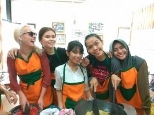 Enjoyable cooking class