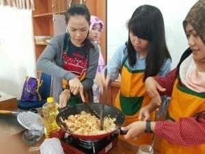 Fun cooking class
