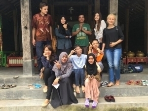Visiting traditional music museum